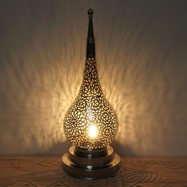Messinglampe Daye