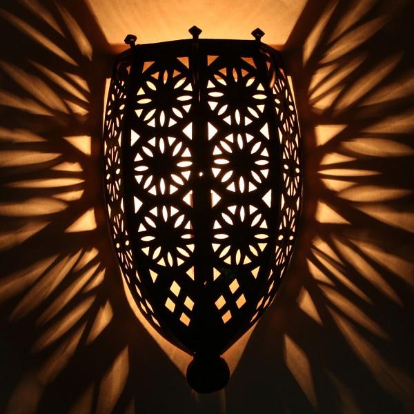 Orientalische Eisen Wandlampe EWL05