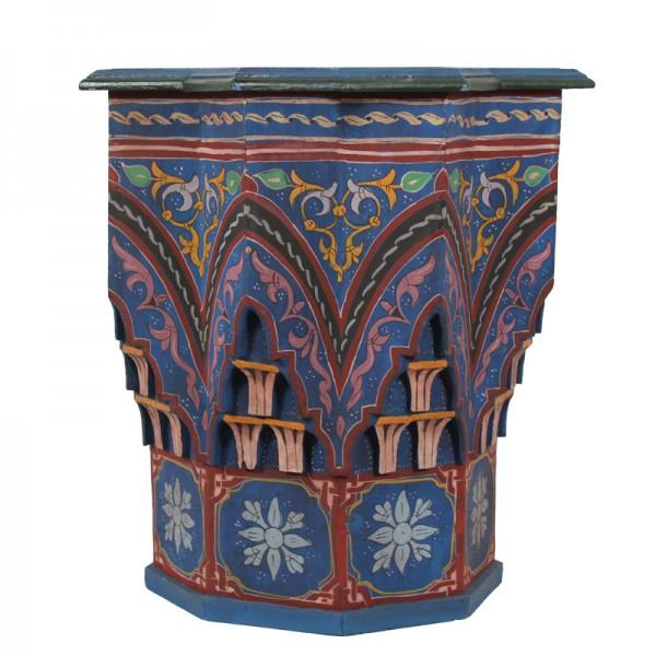 Orientalischer Beistelltisch Riad Blau