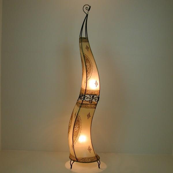 """XXL Henna-Stehlampe """"Hissan"""" H160 Weiss"""