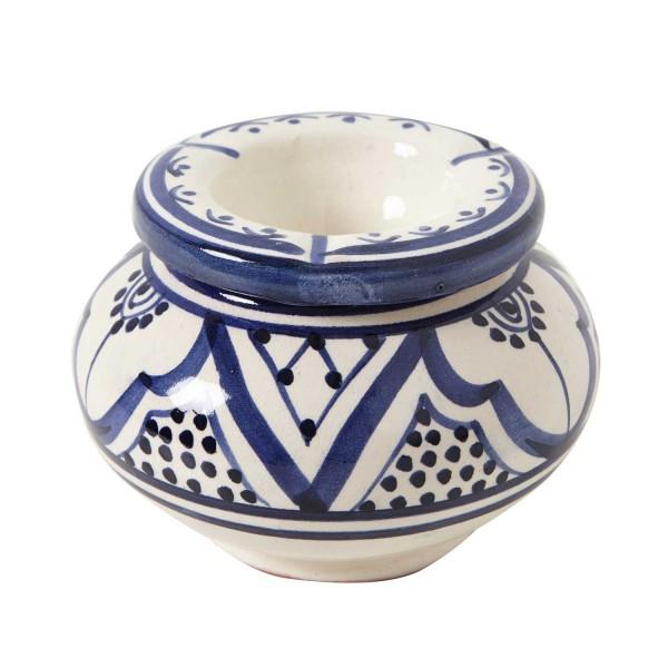 Keramik Aschenbecher weiss