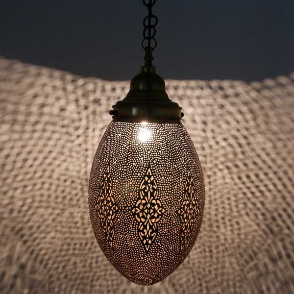 Messinglampe SER109