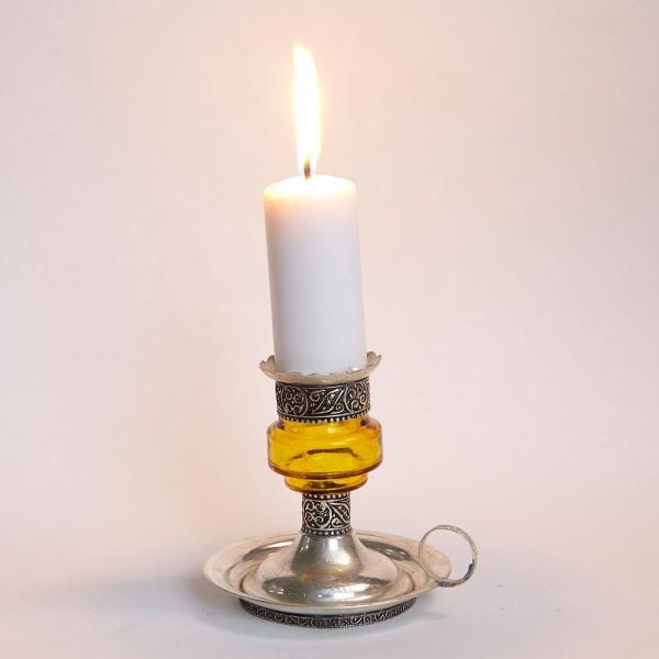Kerzenständer Aladin Gelb