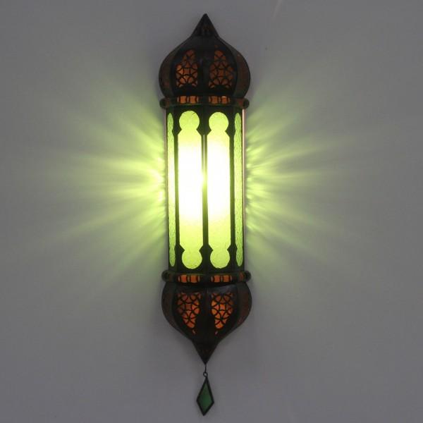 marokkanische Wandlampe Ruya Grün