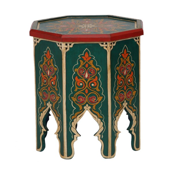Marokkanischer Holz Beistelltisch Schaouen