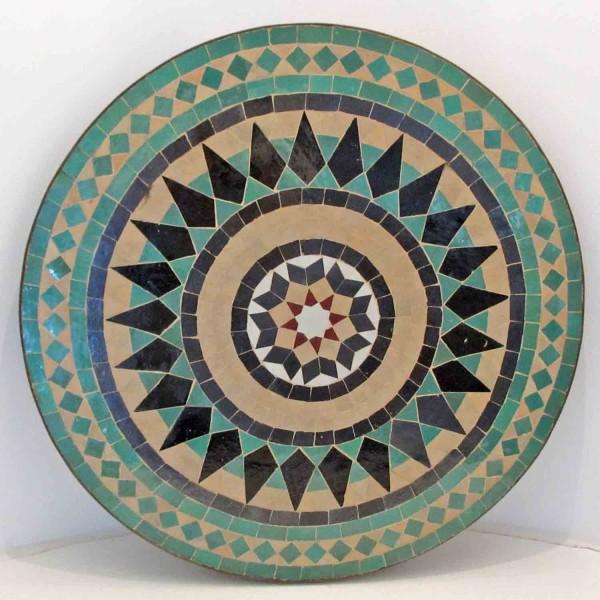 Mosaiktisch aus Marokko Stern Groß