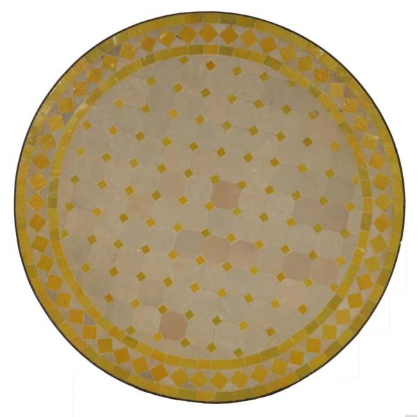 Mosaiktisch D100 Gelb
