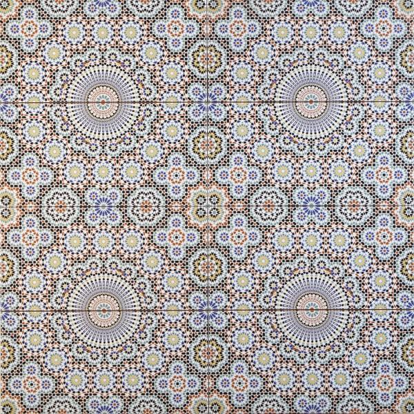 Marokkanische Fliese Riad