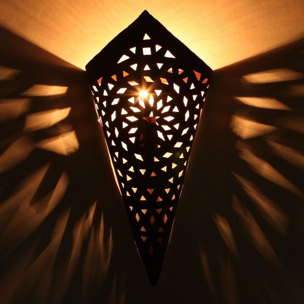 Orientalische Eisen Wandlampe EWL03