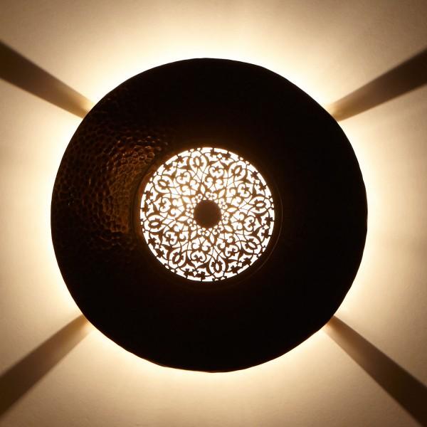 messing-Wandlampe Aftab