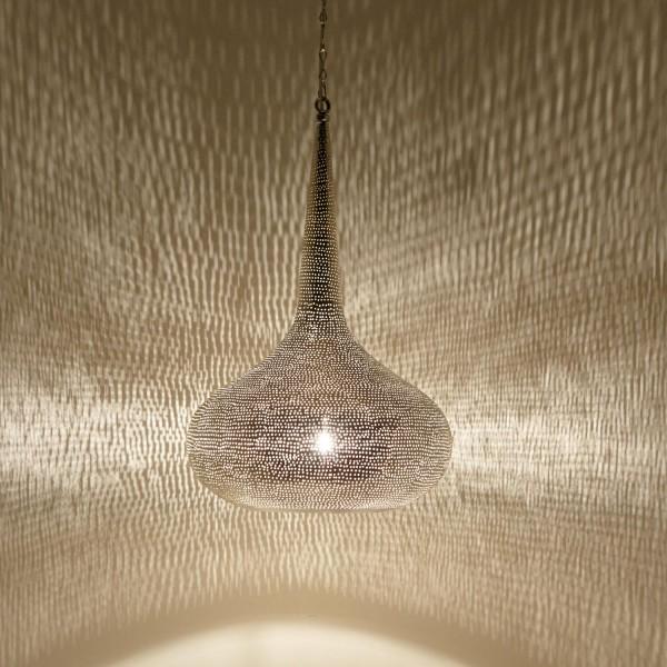 Silberne Lampe Mirbat D52