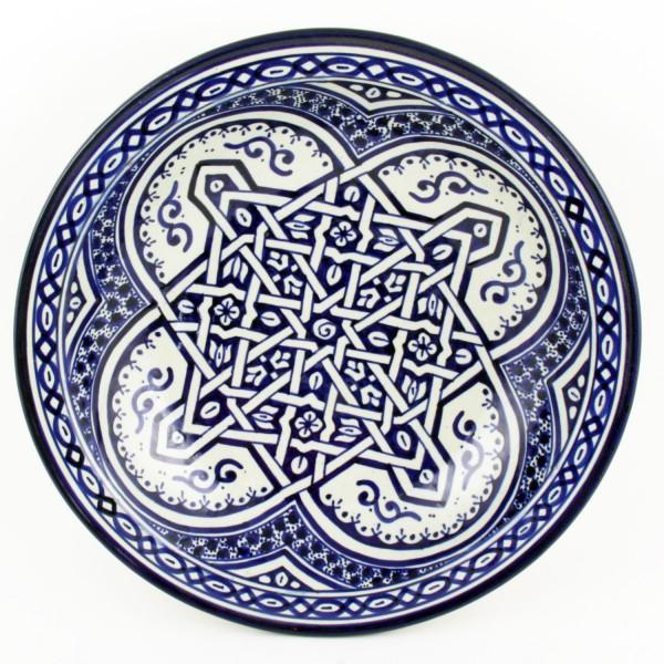 Handbemalte Keramikschale F011