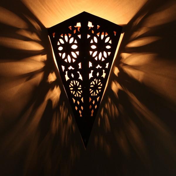 Orientalische Eisen-Wandlampe EWL07