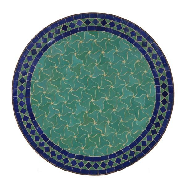 Mosaiktisch aus Marokko - Rund -M60-28