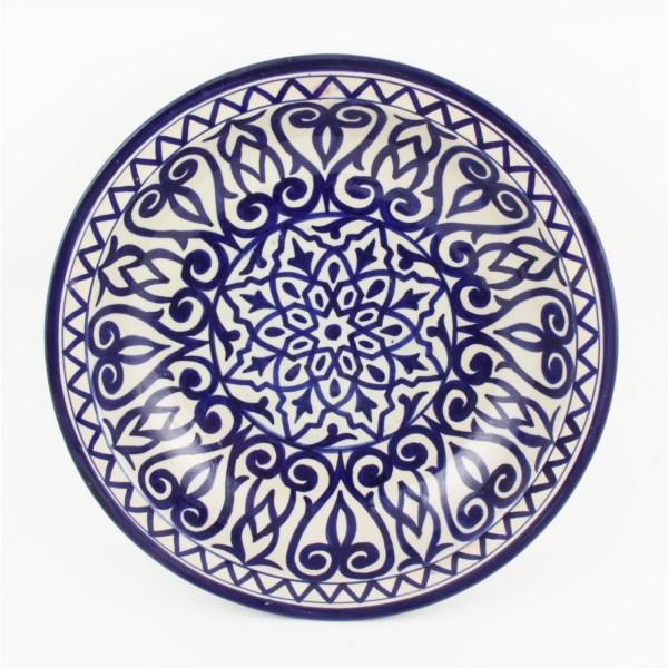 Handbemalte Keramikschale F012