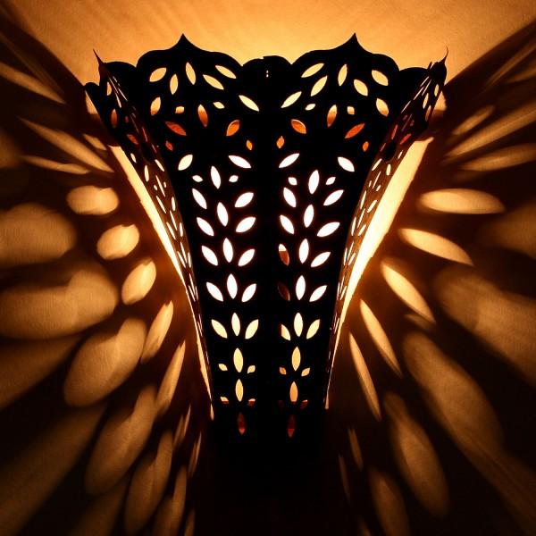 Orientalische Eisen Wandlampe EWL16
