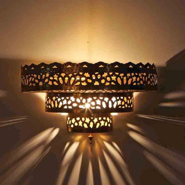 Messing-Wandlampe Daria