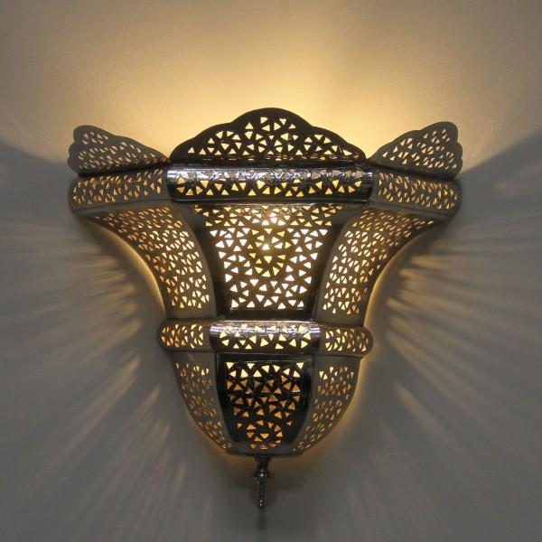 Silber-Wandlampe Sude