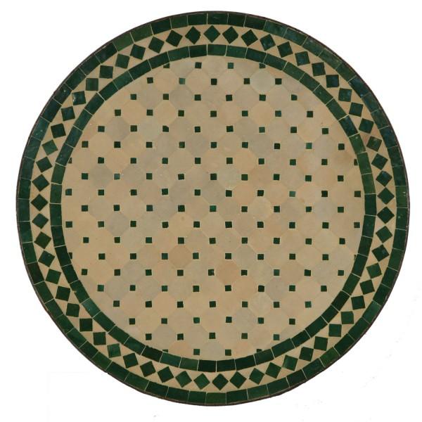 Mosaiktisch aus Marokko - Rund -M60-2