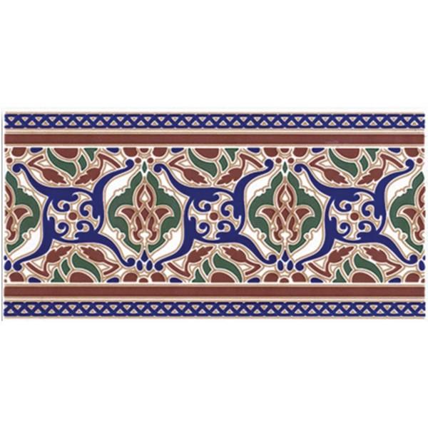 Marokkanische Fliesen-Bordüre Layali