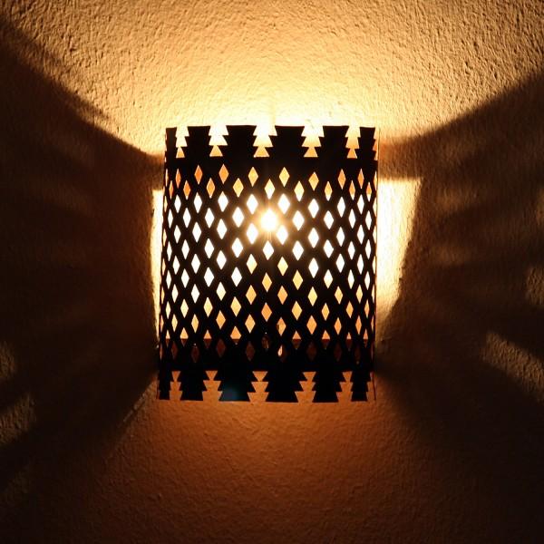 Orientalische Eisen Wandlampe EWL09