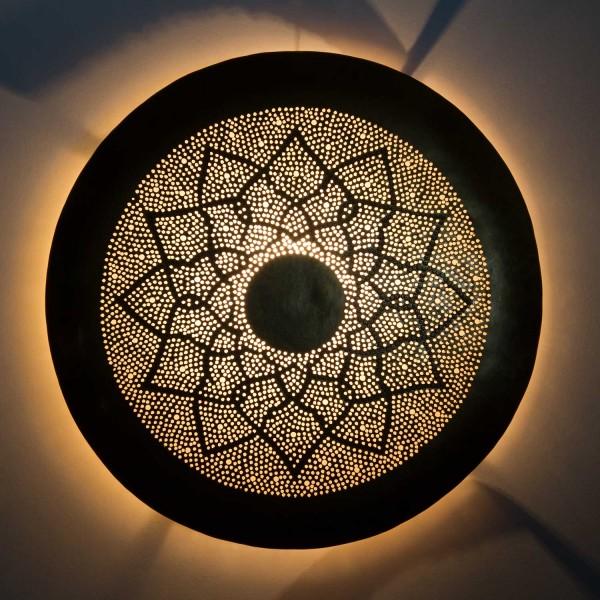 Messing-Wandlampe Aladdin