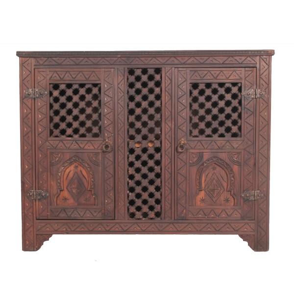 Marokkanische Holz Kommode Ifni
