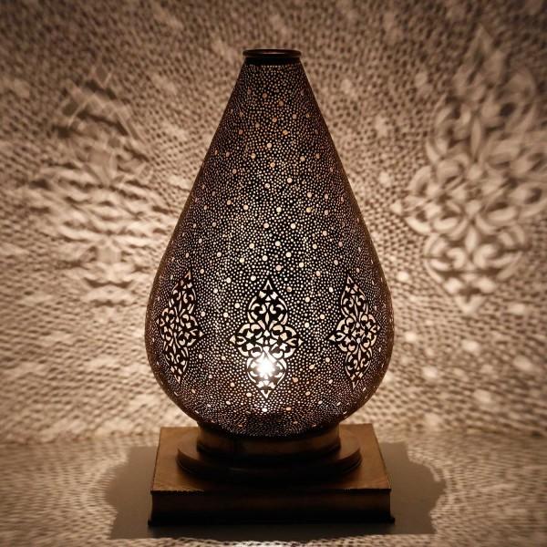 Messinglampe Suad