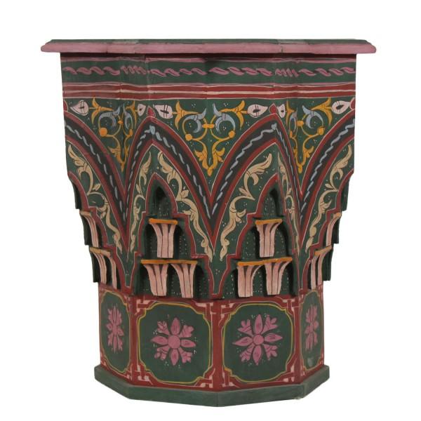 Orientalischer Beistelltisch Riad Grün