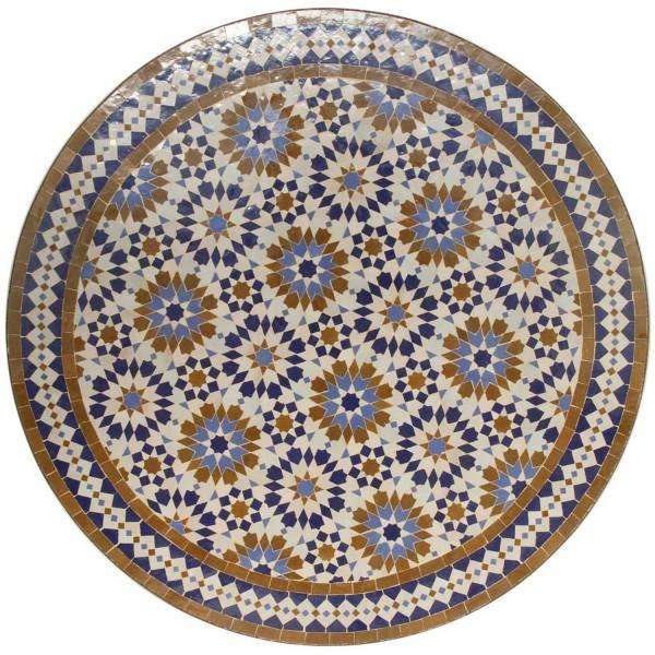 Mosaiktisch D90 Ankabut-Braun