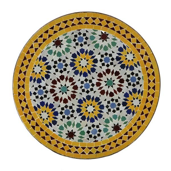 Mosaik-Tisch aus Marokko -M60-5