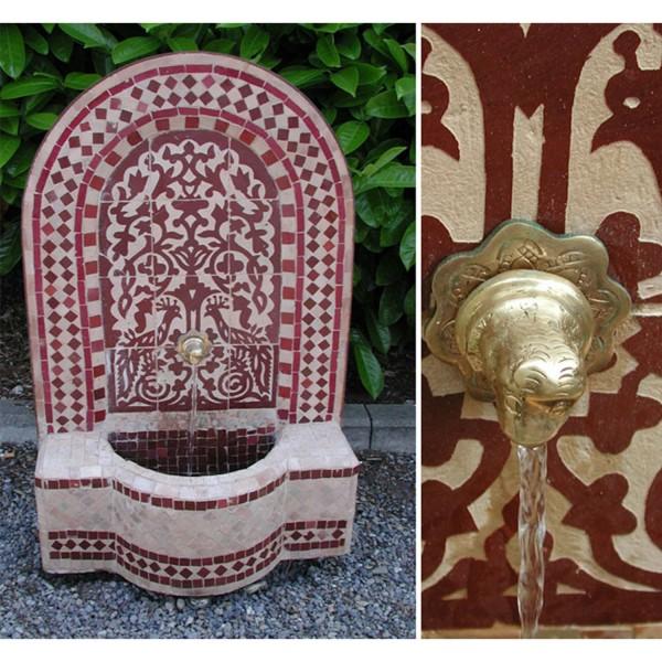 Mosaik-Brunnen Asfor Bordeaux