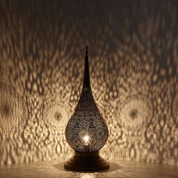 Messinglampe Charda