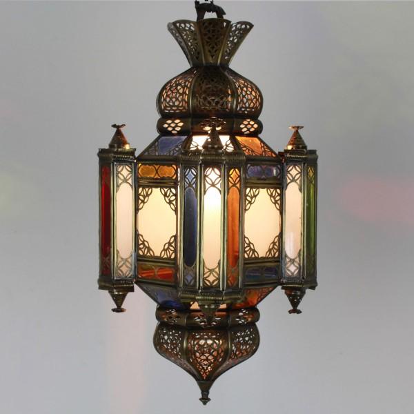 Messinglampe Moula--Messing