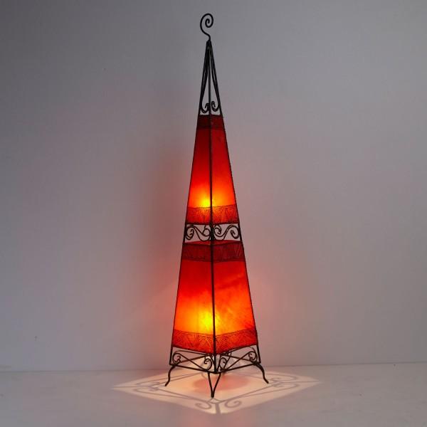 XL Lederlampe Raket H150 Orange