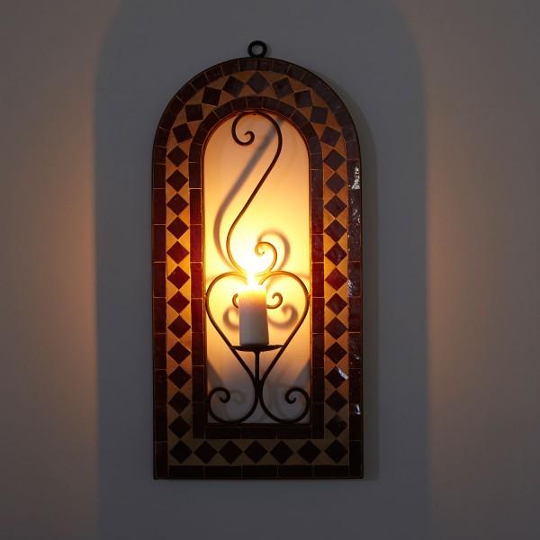 Mosaik Kerzenleuchter