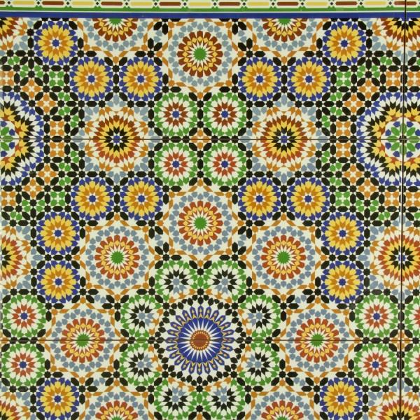 Orientalische Fliese Temara
