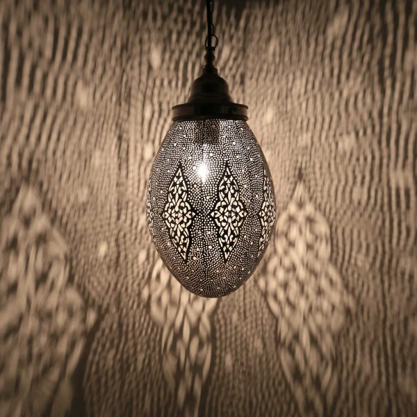 Silberlampe Sanan Klein