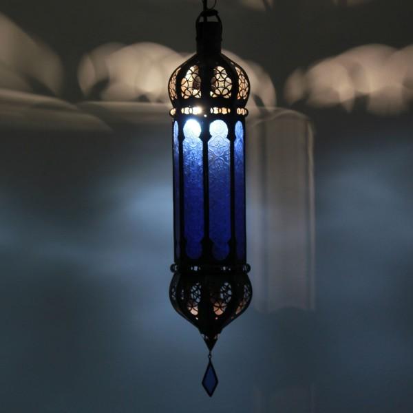 Hängeleuchte Dunya Blau