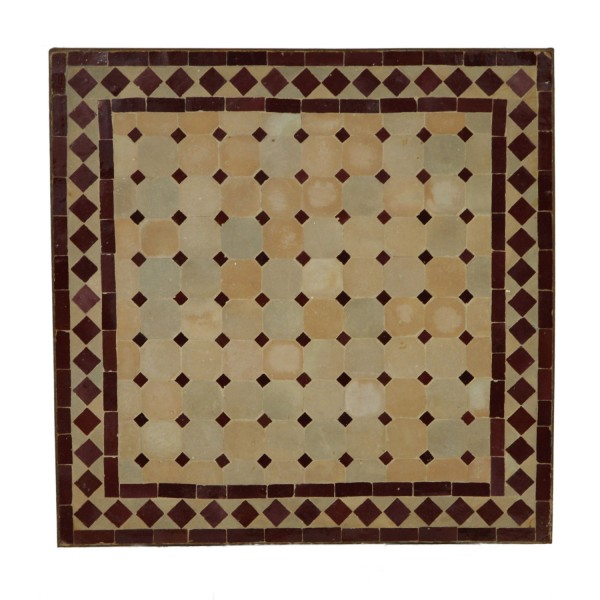 Mosaiktisch 80x80 cm
