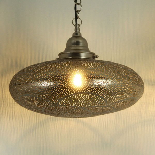 Messinglampe Adelia